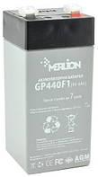 Аккумуляторная батарея MERLION AGM GP44M1 (4V 4Ah)
