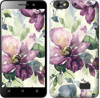Чехол EndorPhone на Huawei Honor 4C Цветы акварелью 2237c-183-19016 (hub_DQKS45397)