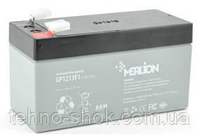 Акумуляторна батарея MERLION GP1213F1-12v-1,3 Ah