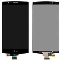 Дисплей (экран) для LG H818P G4 Dual Sim/H818N с сенсором (тачскрином) черный Оригинал, фото 2