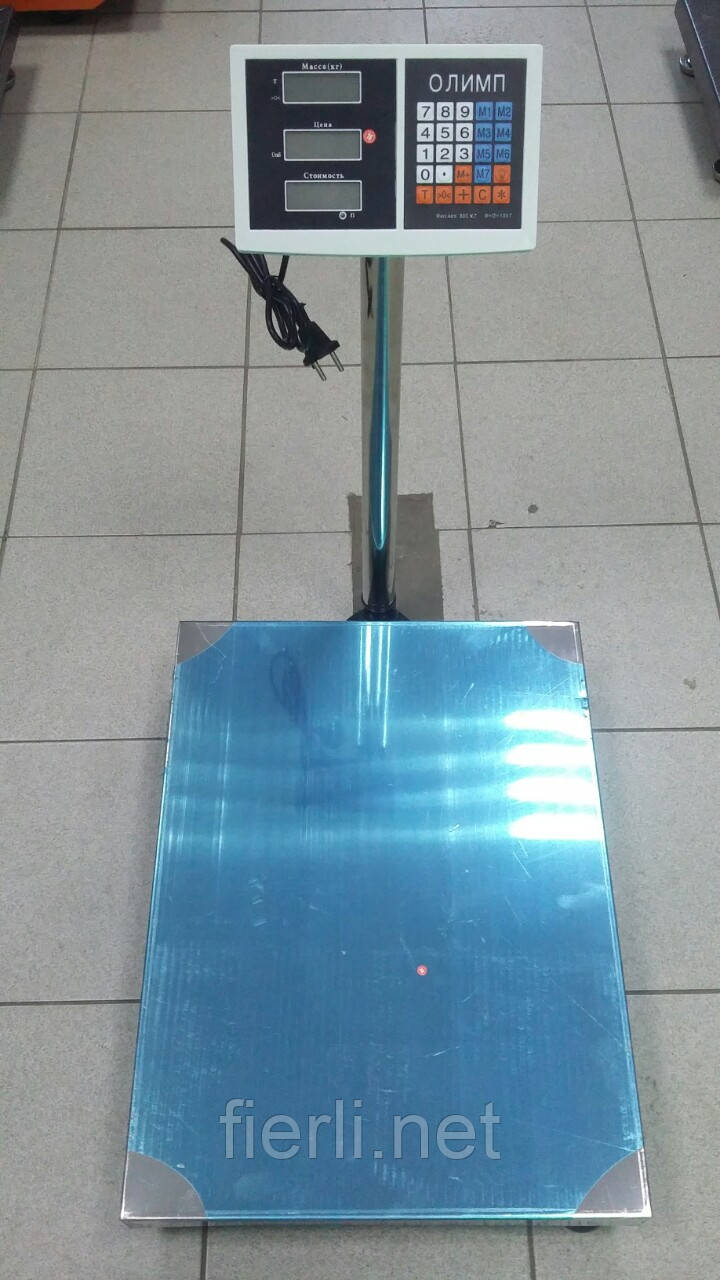 Товарные весы Олимп TCS-В 300 кг (400х500мм)