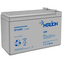 Акумуляторна батарея MERLION AGM GP1290F2 12 V 9 Ah