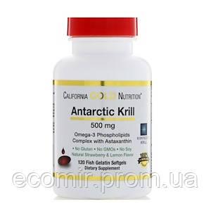 Масло антарктического криля, CGN (500 мг, 30 капсул)