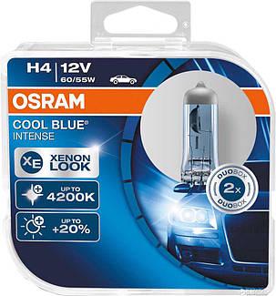 Автолампа OSRAM 64193CBI H4 60/55W 12V P43T 10X2 HardDuopet, фото 2