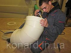 Виробництво пластикової вентиляції
