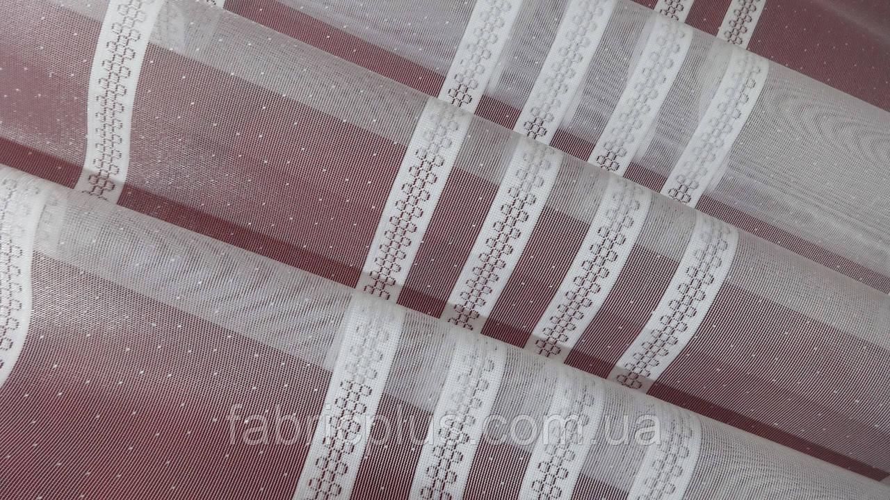 Тюль микросетка с вышивкой В-285 (Мелиса 64-01)