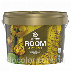 Eskaro Akzent Room 9 л Акриловая краска для стен арт.4740381015229 Белая