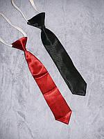 """Нарядный атласный галстук  для мальчика бордовый, черный (СУПЕР качество!!!) на праздник """"Джентельмен"""" Турция , фото 1"""