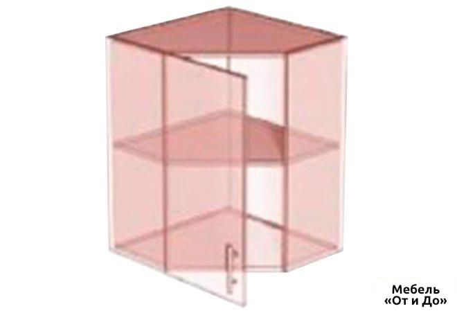 Модульная кухня Престиж Патина / Prestige Патина Верх 58 витрина угол