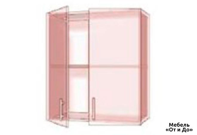 Модульная кухня Хай Глосс / High Gloss Верх 80 витрина фотопечать