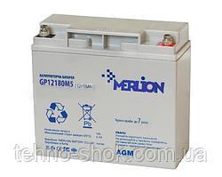 Акумуляторна батарея MERLION AGM GP1218M5 12 V 18 Ah
