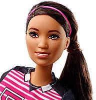 Кукла Барби футболистка в форме Barbie Careers 60th Anniversary Soccer Player Doll