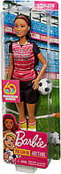 Кукла Барби футболистка Barbie Careers 60th Anniversary Soccer Player Doll