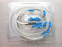 Splitter 1/16 with connector sc/upc 900um, 1,5m