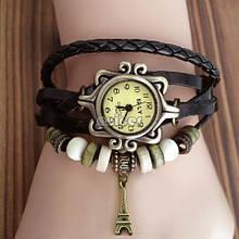 Винтажные часы-браслет с башней ретро