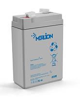 Аккумуляторная батарея MERLION GP645 6V 4.5Ah