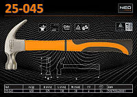 Молоток плотничий m-450гр., NEO 25-045
