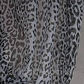 """Тюль печать """"Леопард"""", фото 2"""