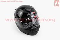 Шлем закрытый ROOKIE SOLID FF352 XL - ЧЕРНЫЙ