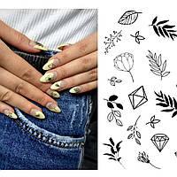 """Слайдер-дизайн для ногтей """"DIAMONDS"""""""