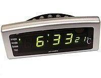 Настольные электронные часы Caixing CX 818 (Кексин CX 818), фото 1