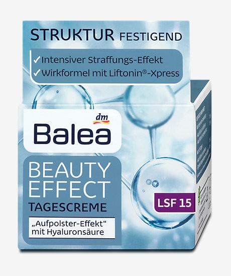 Balea Beauty Effect Tagescreme -  Дневной крем от морщин (35-45 лет) 50 мл, фото 1