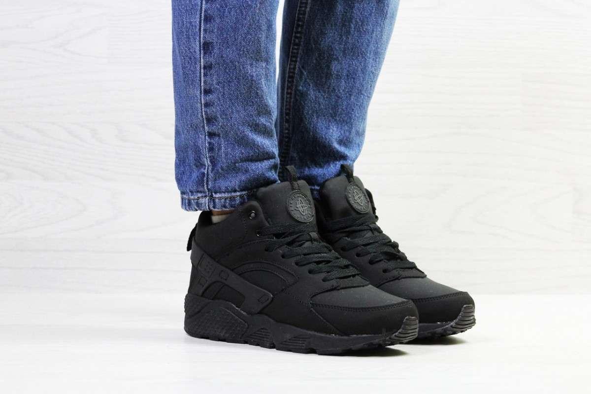 891651245 Кроссовки женские на зиму черные Nike Huarache 6915 купить в ...
