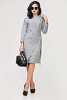 Платье S-9023 Серо-голубой