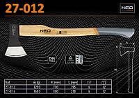 Топор с деревянной ручкой m-1250гр., NEO 27-012