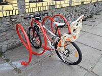 Велопарковка в виде пружины SNAKE-5