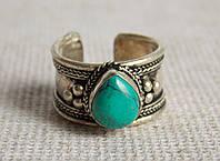 Кольцо с бирюзой. Кольца с камнями