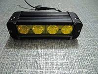 Противотуманные светодиодные фары   S1040 IP67  желтые, фото 1