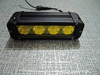 Противотуманные фары 40Вт.   GV 1040S  IP67  желтые 1шт. https://gv-auto.com.ua, фото 1