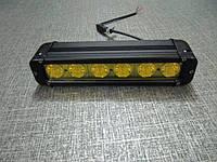 Противотуманные светодиодные фары   S1060 IP67  желтые , фото 1