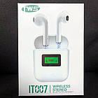 Беспроводные наушники tws iT007 с дисплеем, фото 5
