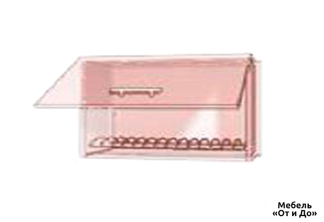 Модульная кухня Престиж Роял / Prestige Роял Верх 983 витрина-сушка