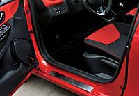 Renault Clio IV 5D/SW (2012-) Дверные пороги 4шт
