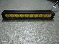 Противотуманная  фара 100Вт.   S10100 IP67  желтая, фото 1