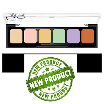 Палетка для камуфляжа лица Golden rose Correct&conceal camouflage cream palette