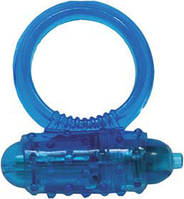 Виброкольцо Silicone Soft Cock-Ring blue