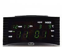 Электронные часы-календарь Caixing CX 838 (Кексин CX 838), led digital clock