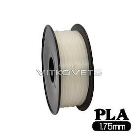 Пластиковая нить PLA, 1.75 мм, 1 кг (прозрачный)