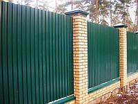 Профнастил ПС-8 стеновой, заборный, фасадный