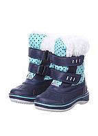 L11-290157, Детские водонепроницаемые сапоги, детская, синий-бирюзовый
