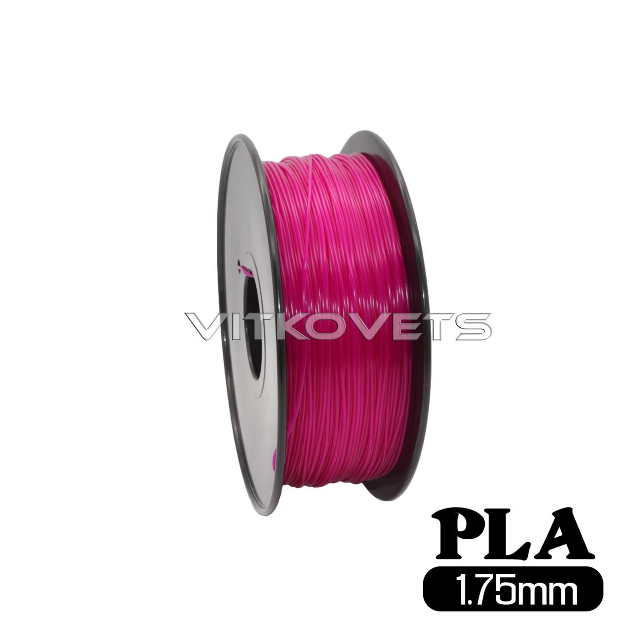 Пластиковая нить PLA, 1.75 мм, 1 кг (фиолетовый)