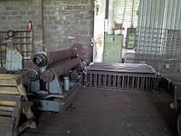Вальцовка метала, изготовление стальных труб из листа.