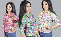 Летний стильный пиджак больших размеров 1533 ян $