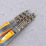 Сверло 1,2 мм HSS гравер бормашинка цанга свёрла мини дрель PCB Dremel, фото 8