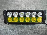 Двухцветная  светодиодная фара 120Вт.   D10120 IP67  , фото 1