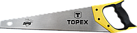 Ножовка по дереву Shark, 500 мм, 7TPI, 10A450Topex, фото 1